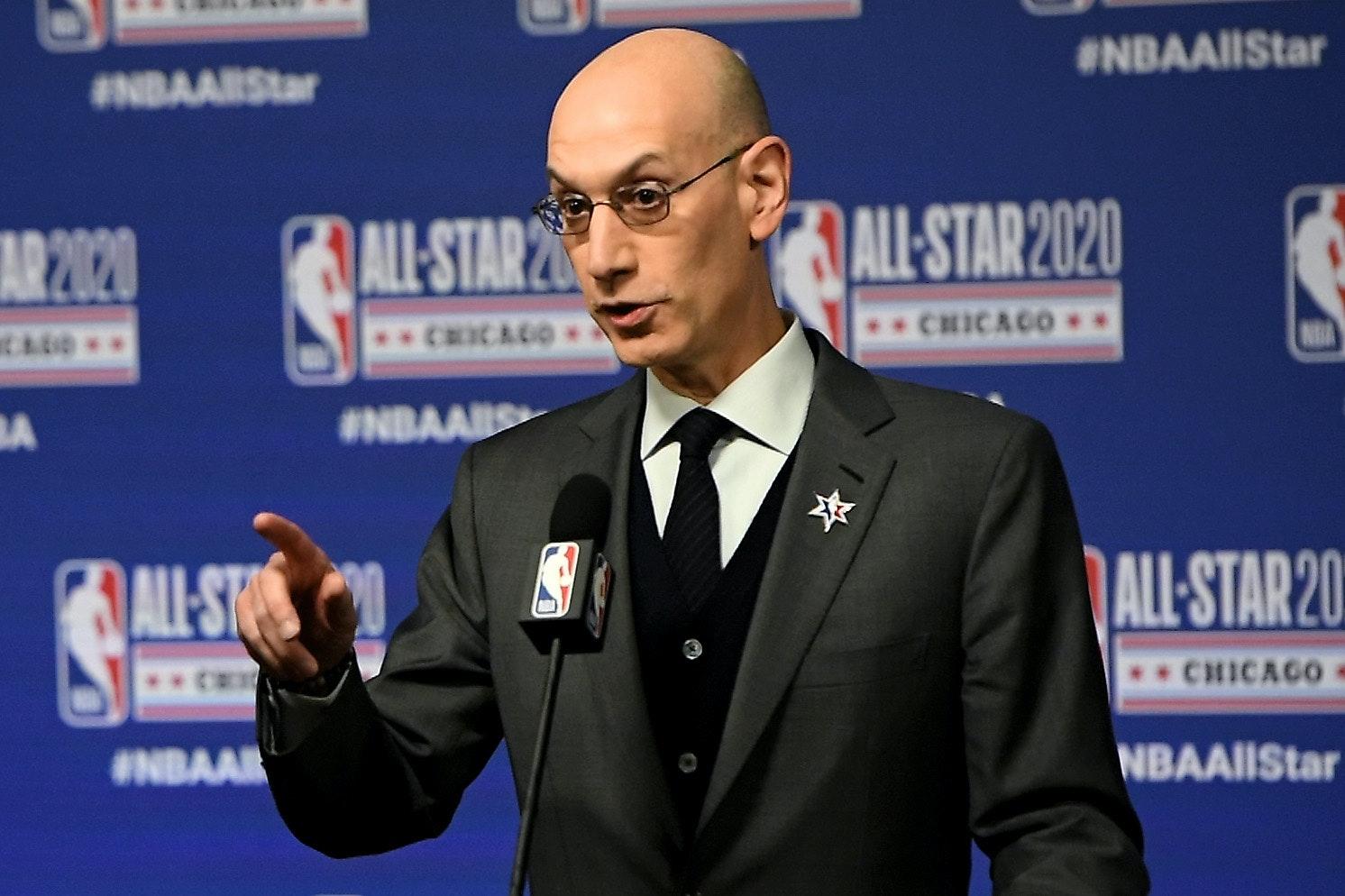Komisarz NBA Adam Silver