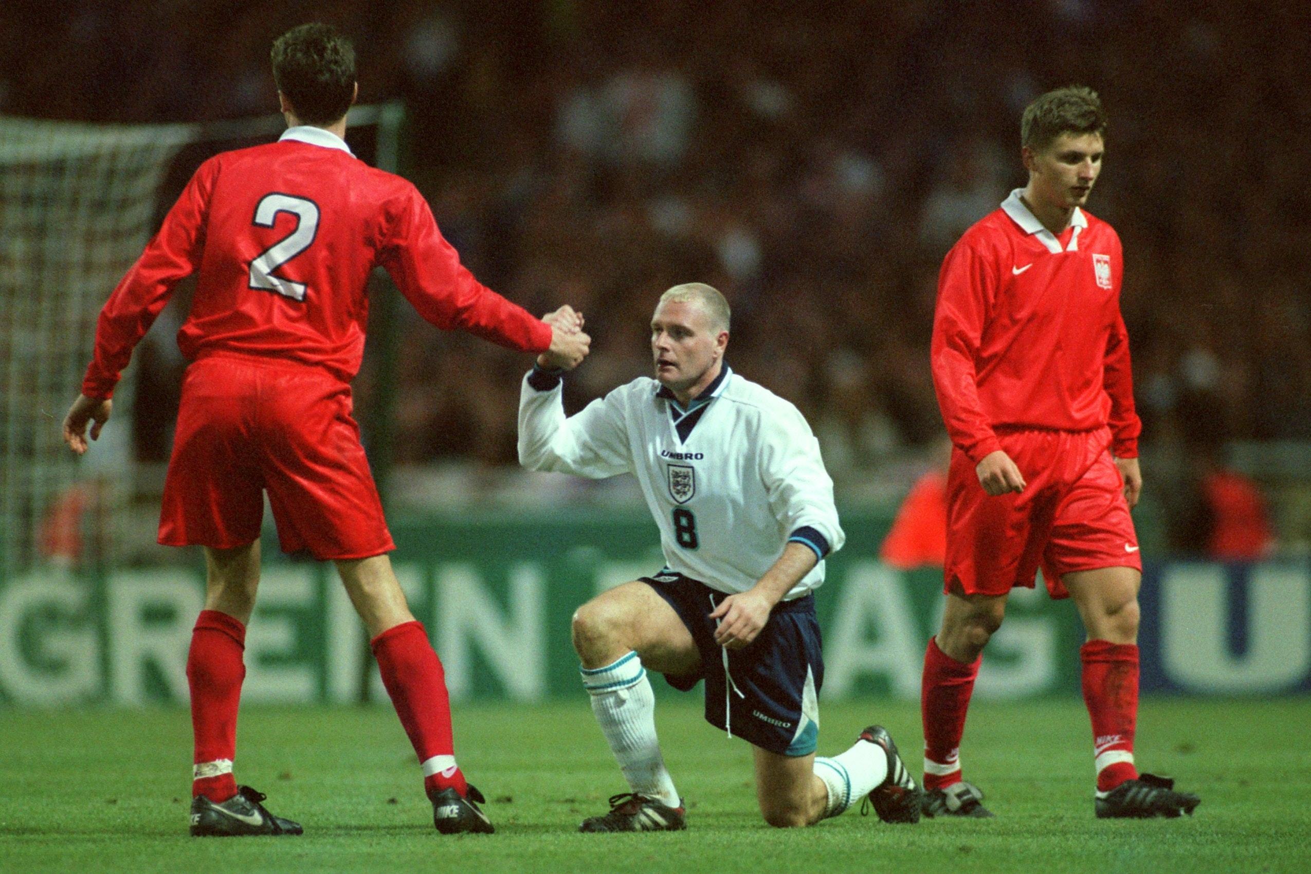 Soccer-World Cup Qualifier-England v Poland
