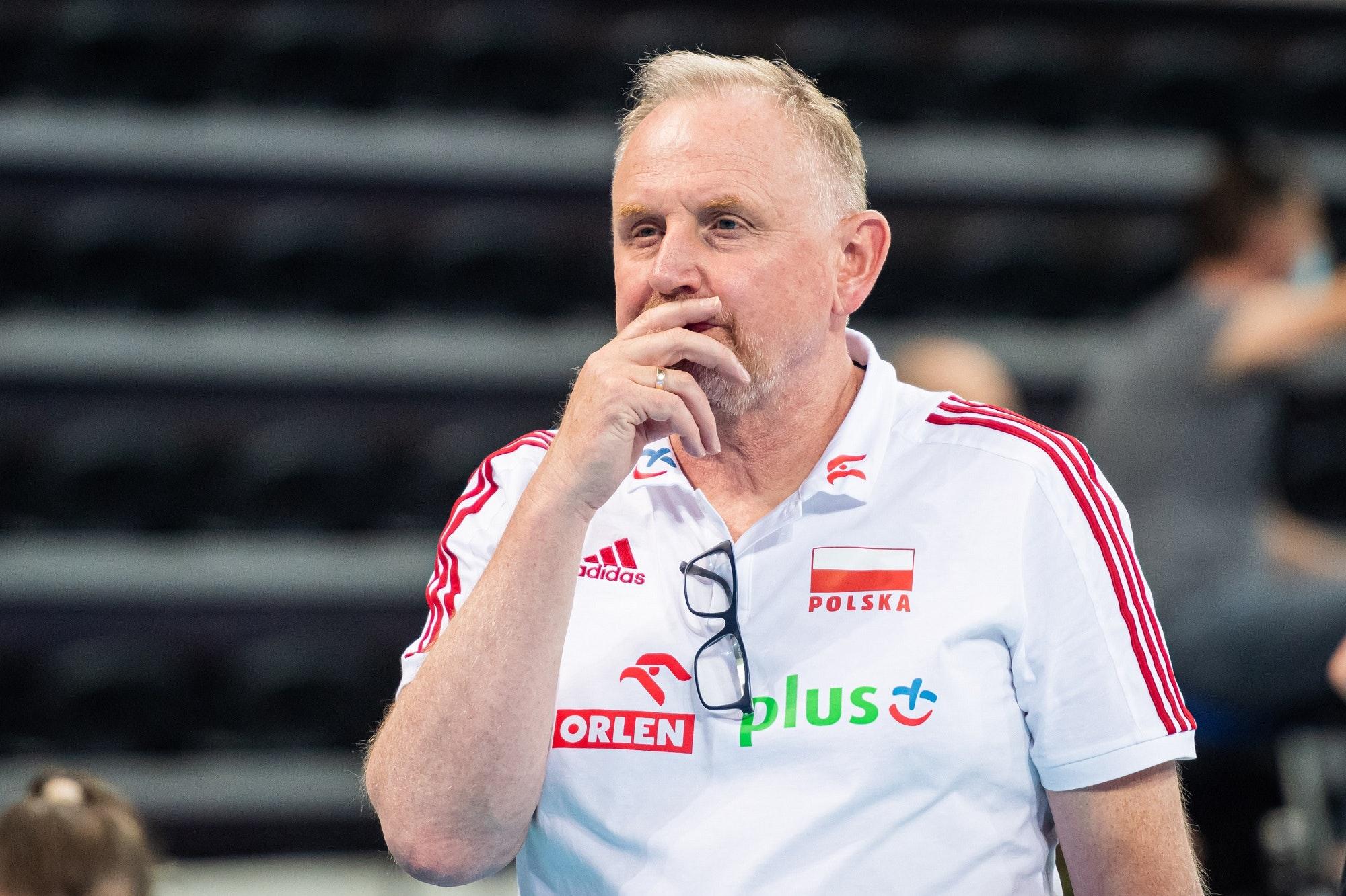 Siatkówka kobiet. Jacek Nawrocki