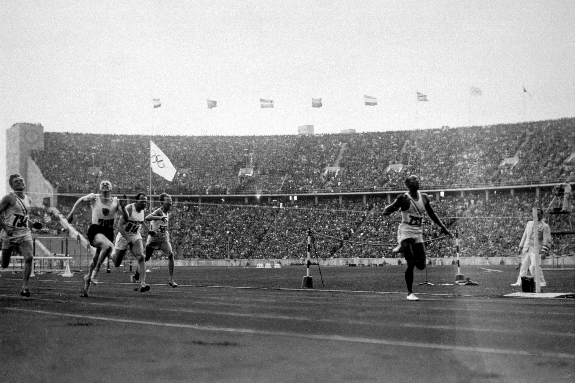 Igrzyska olimpijskie - Berlin 1936. Jesse Owens