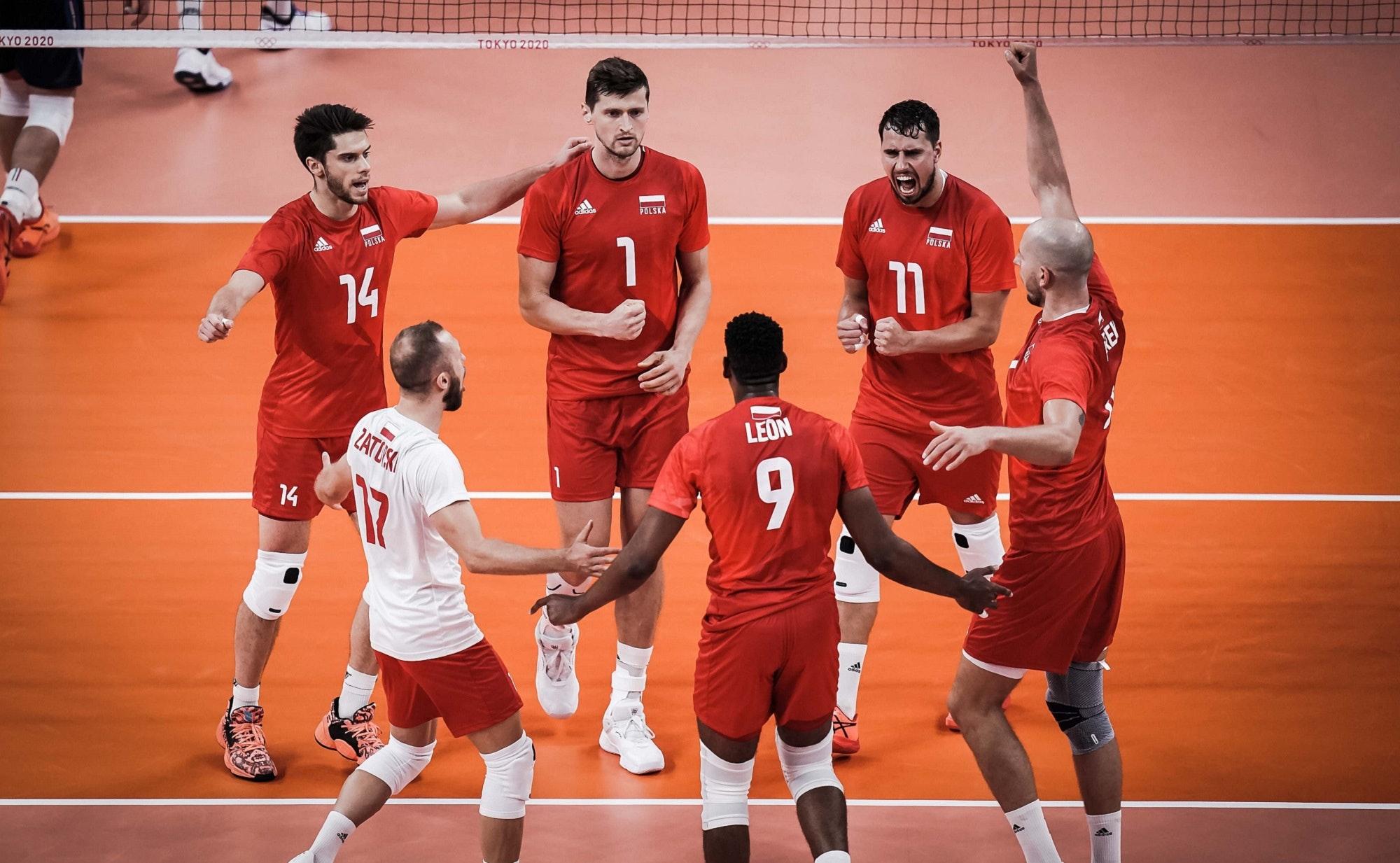 Igrzyska olimpijskie Tokio - siatkówka Polska - Włochy