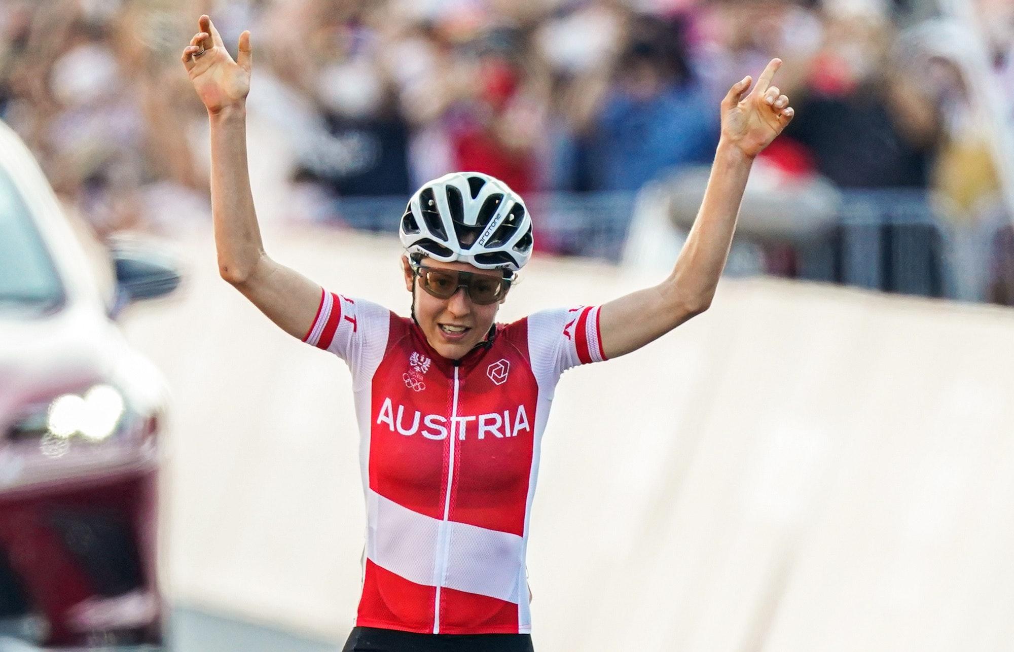 Igrzyska olimpijskie Tokio - kolarstwo Anne Kiesenhofer