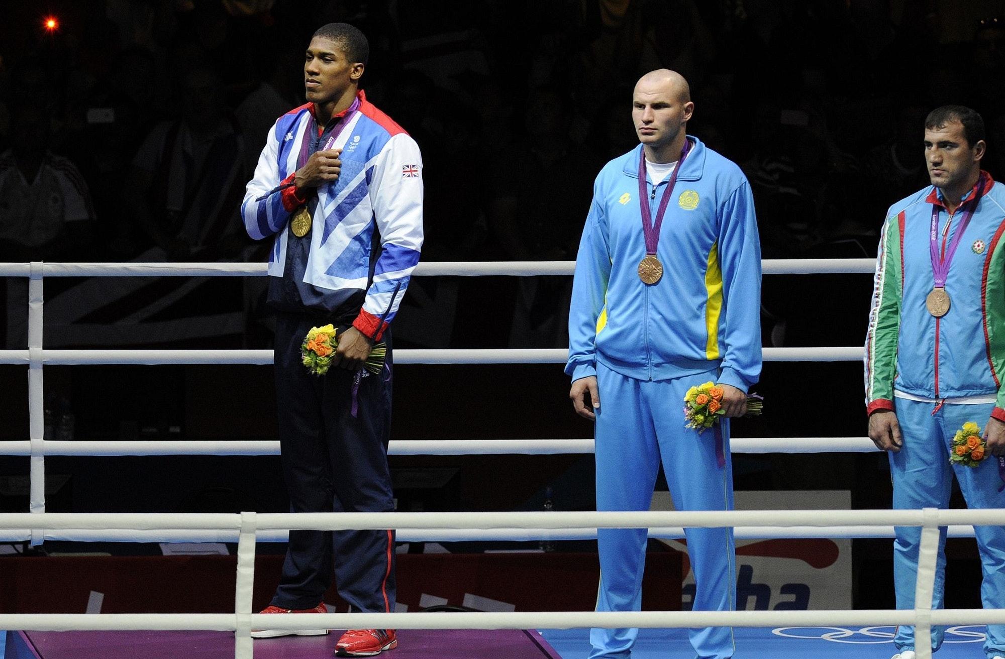 Igrzyska olimpijskie Londyn 2012 - boks, Anthony Joshua