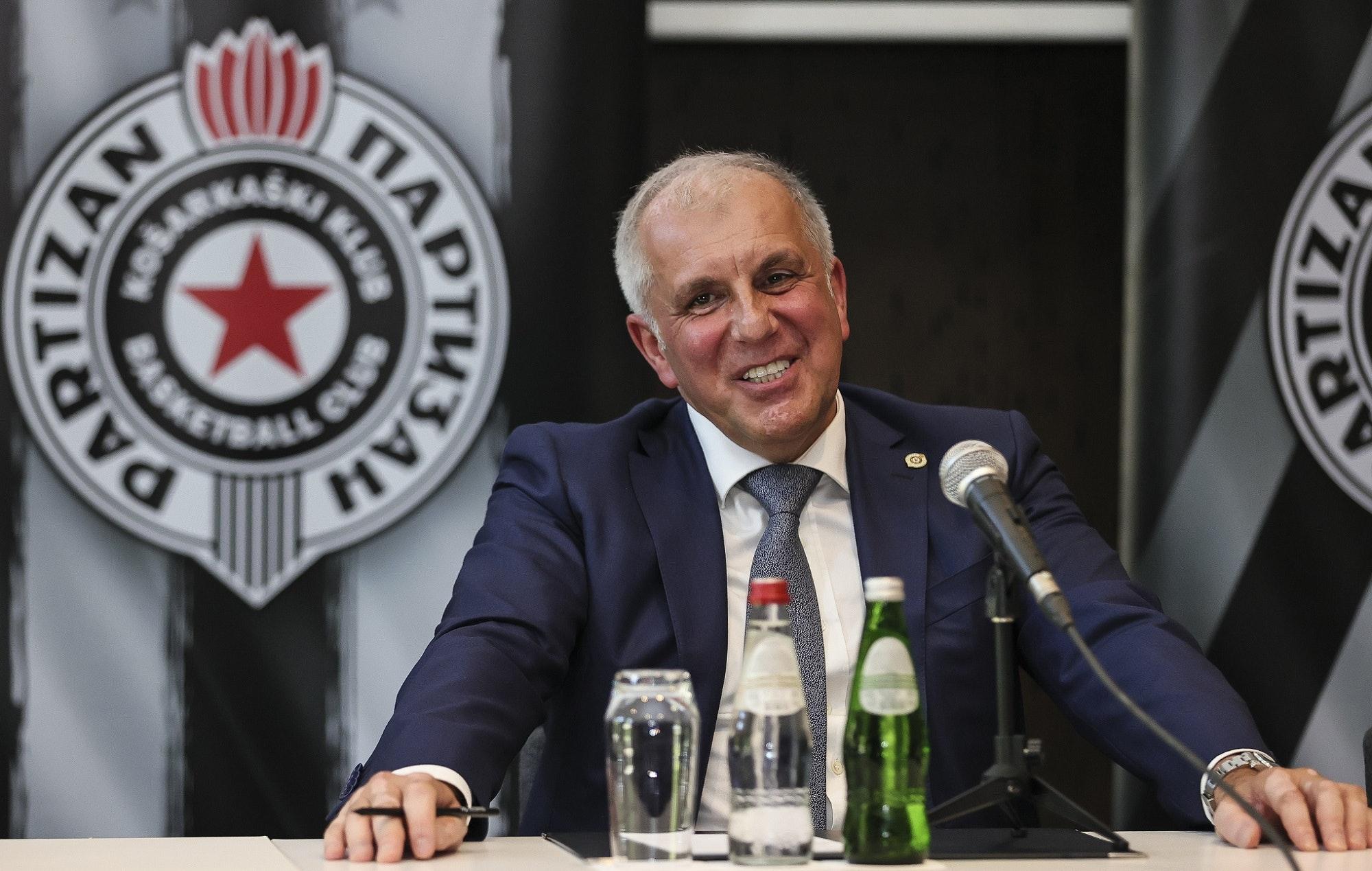Partizan - Zeljko Obradovic