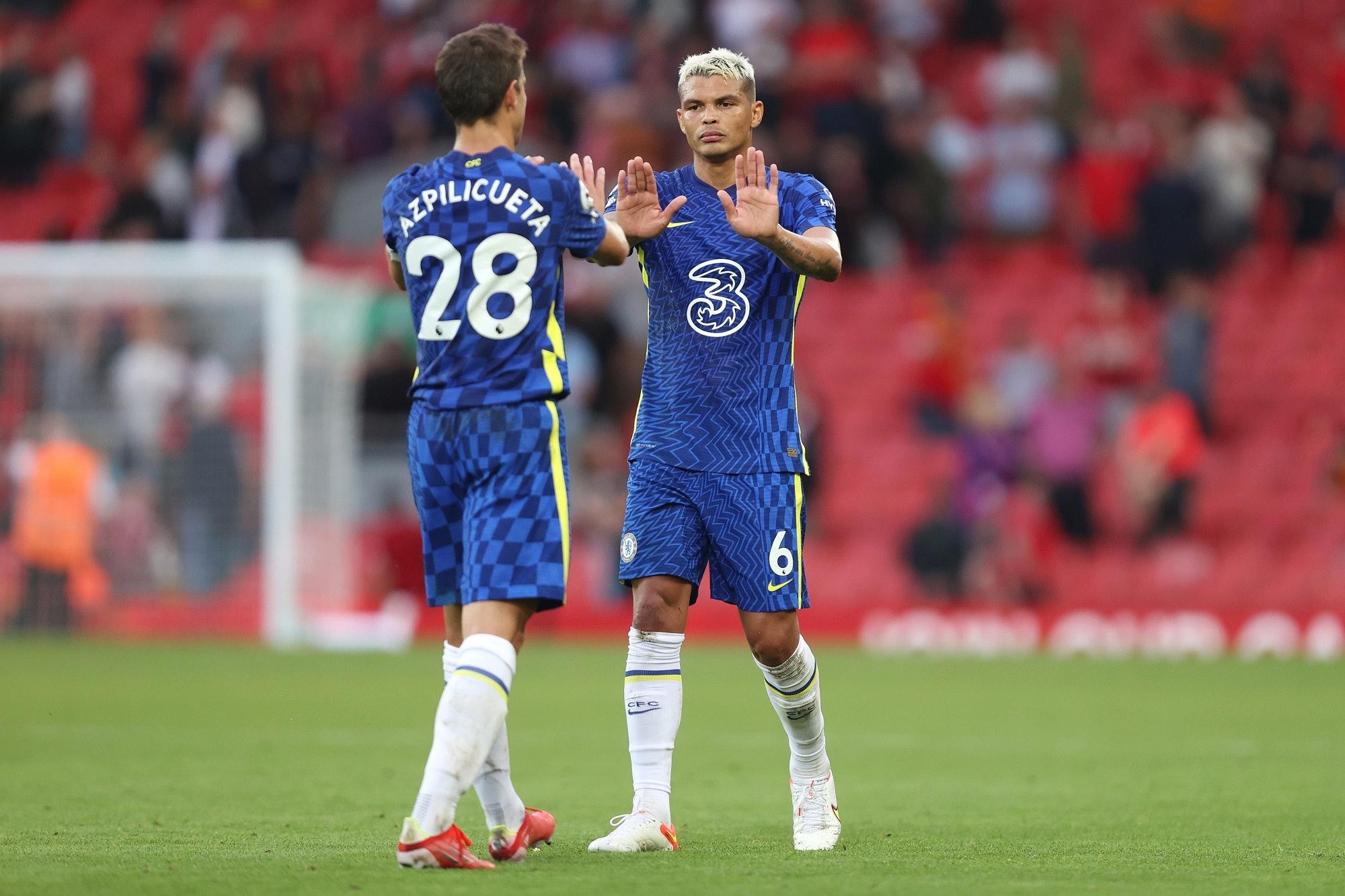 Chelsea: Cesar Azpilicueta i Thiago Silva