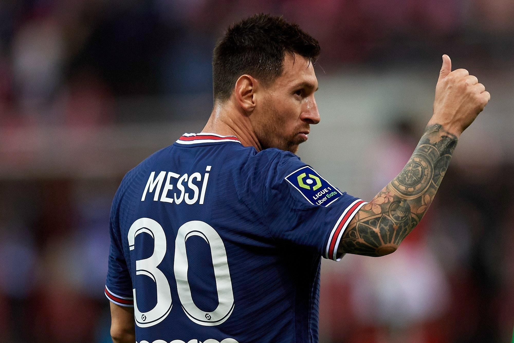 Leo Messi PSG