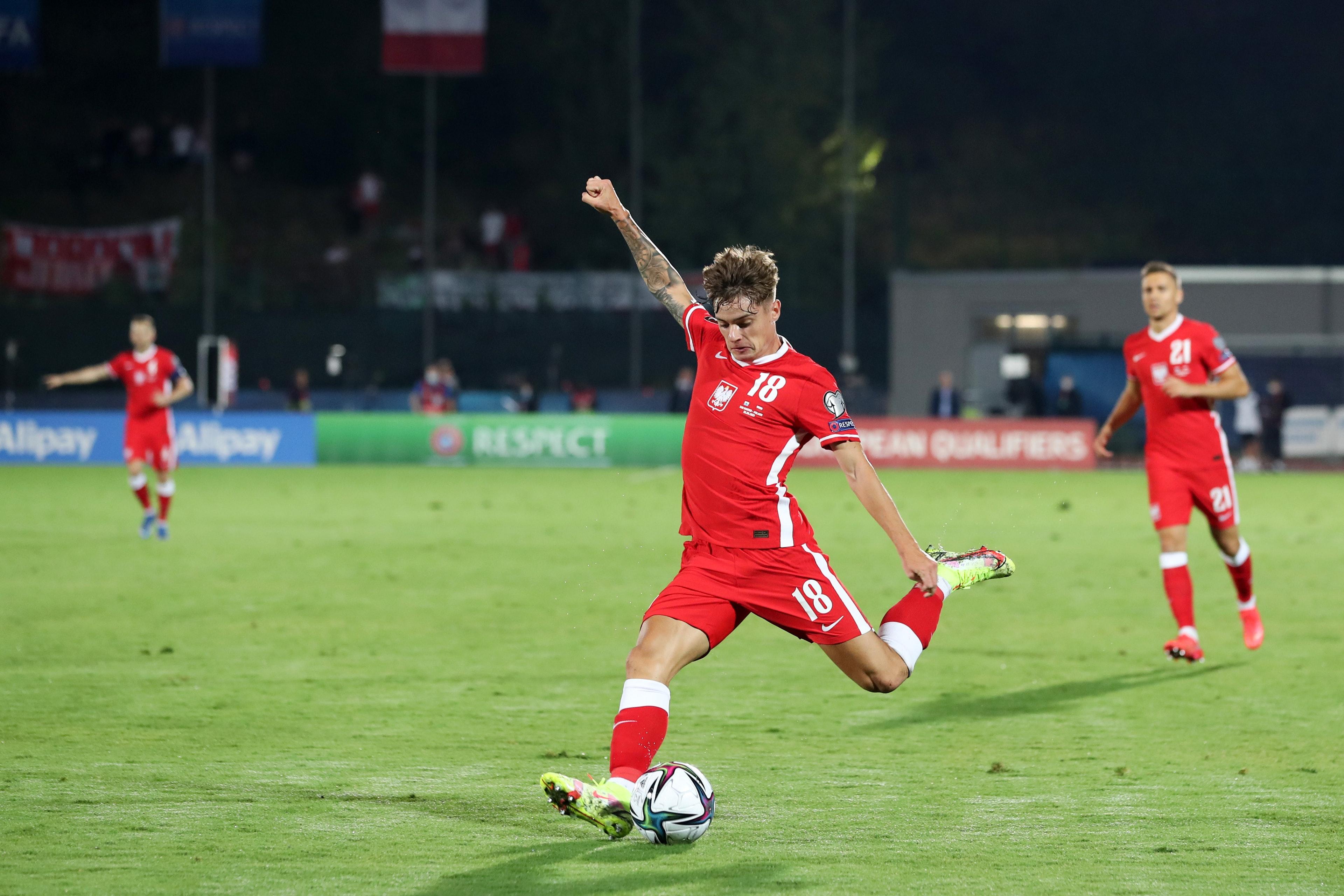 Pilka nozna. Eliminacje do MS 2022. San Marino - Polska. 05.09.2021