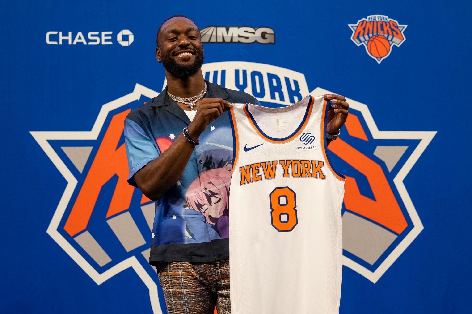 Kemba Walker - prezentacja w New York Knicks