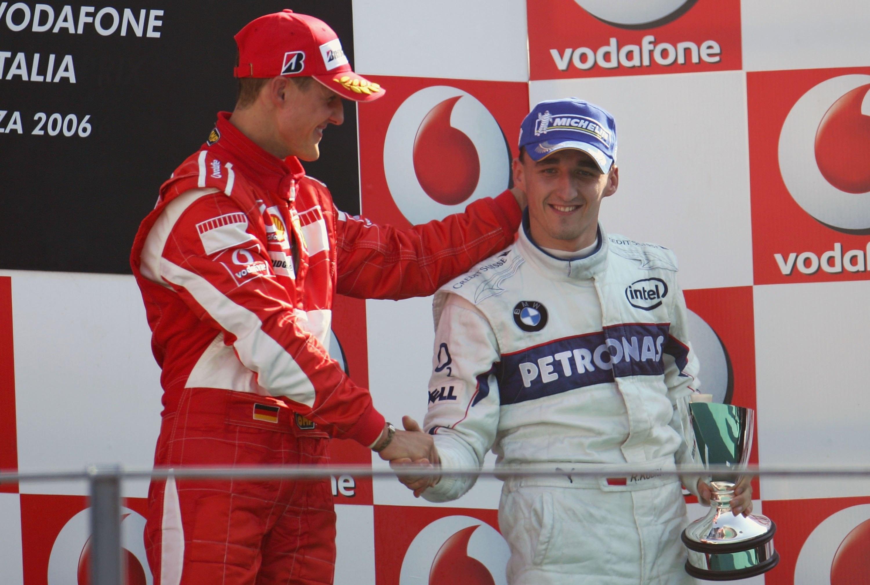 GP Włoch 2006 - Monza. Robert Kubica