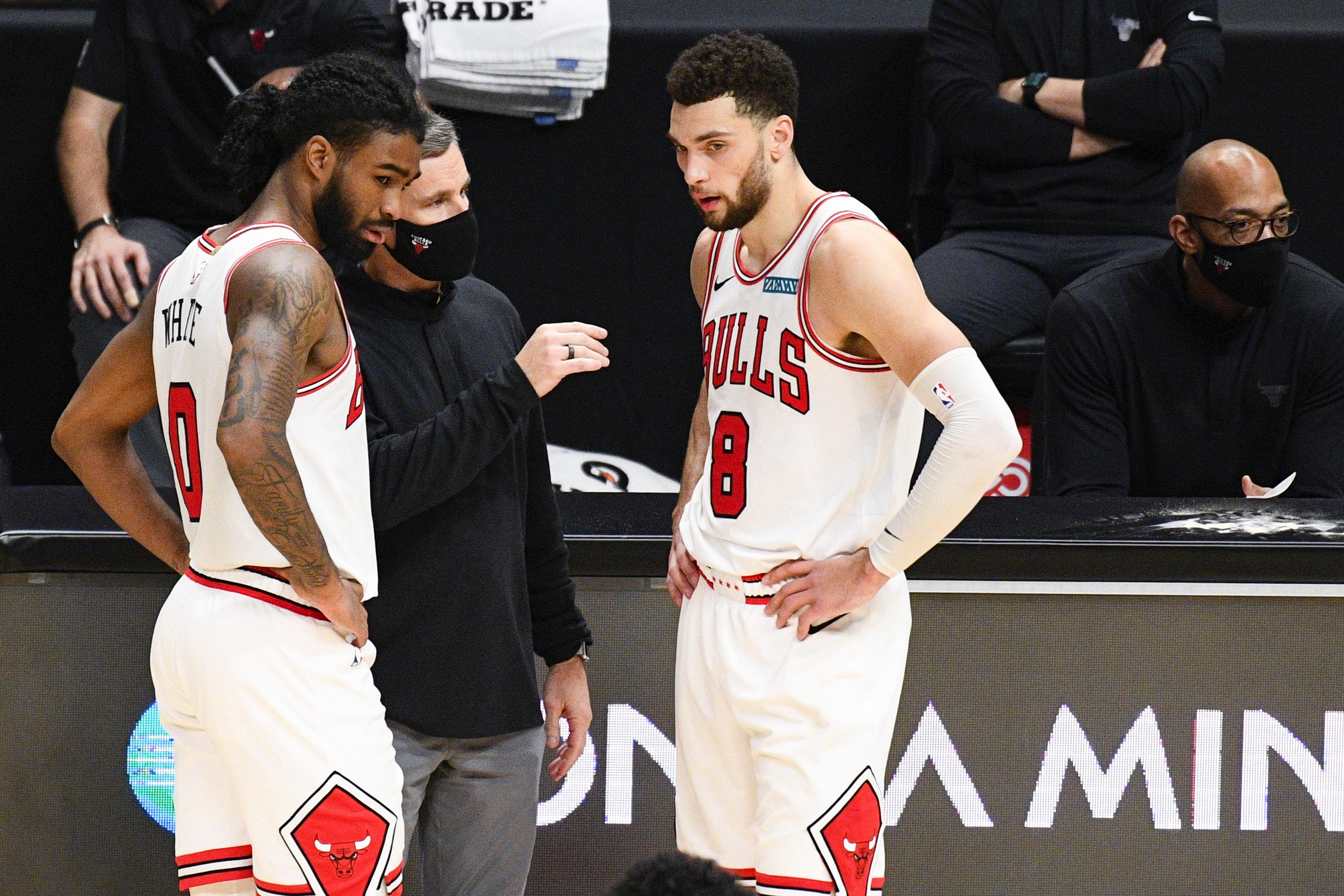Chicago Bulls. Zach LaVine