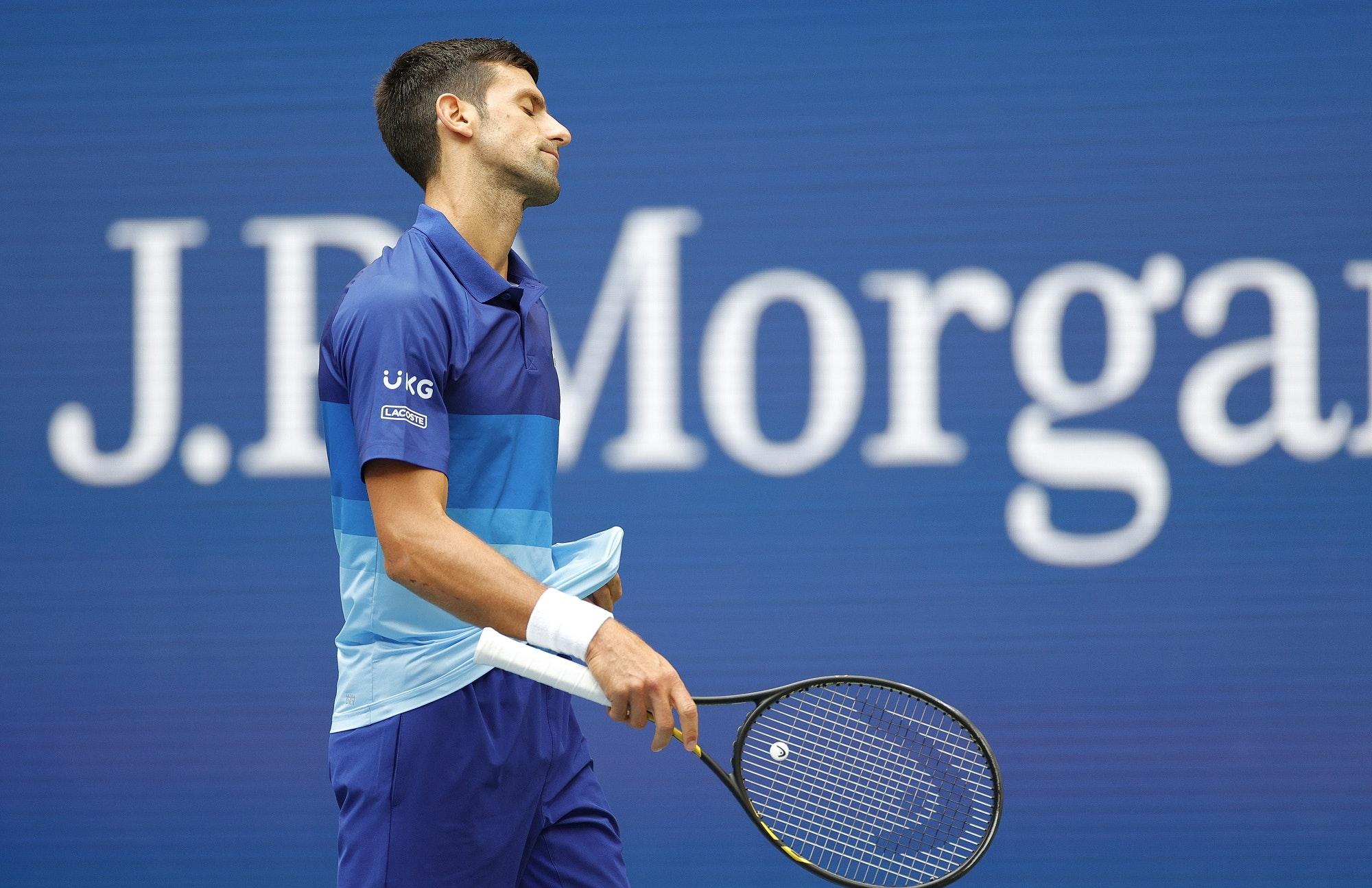 Novak Djoković - 2021 US Open - finał