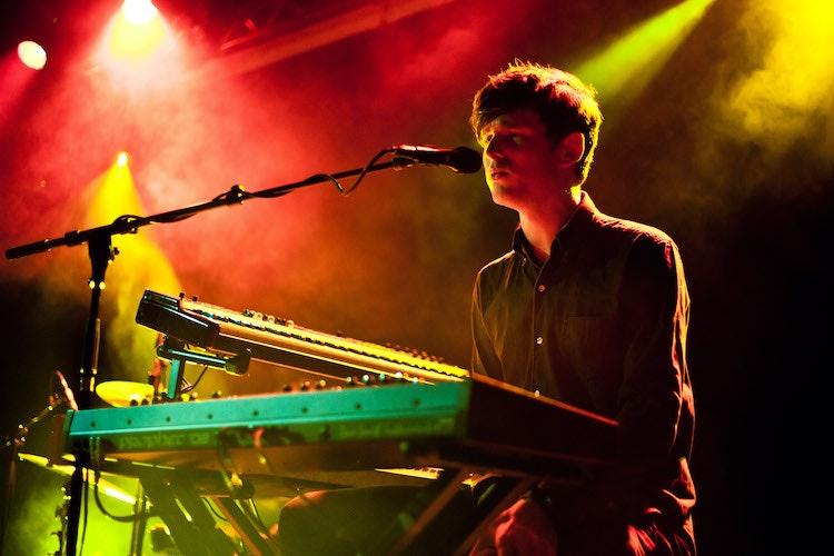 James Blake Performs At Leeds University